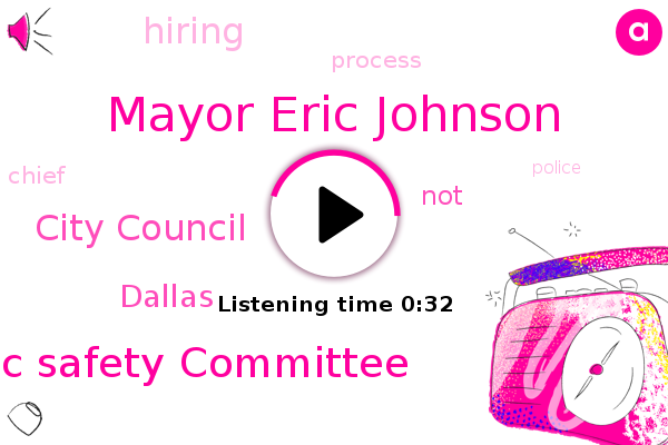 Listen: Dallas Mayor has Concerns with Hiring Process in Search for Chief of Police