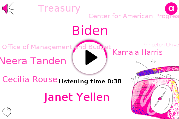 Biden,Janet Yellen,Ceo Neera Tanden,Center For American Progress,Cecilia Rouse,Treasury,Office Of Management And Budget,Princeton University,Council Of Economic Advisors,Kamala Harris