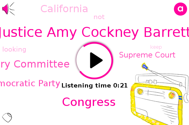 Senate Judiciary Committee,Congress,California,Justice Amy Cockney Barrett,Democratic Party,Supreme Court