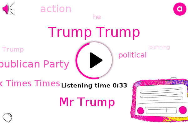 Listen: Trump begins raising money for his new political action committee