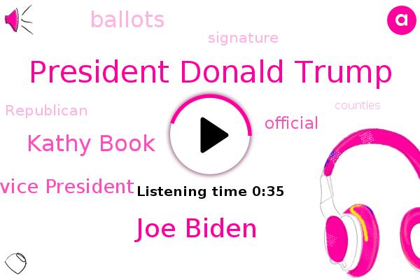 President Donald Trump,Vice President,Joe Biden,Kathy Book,Official