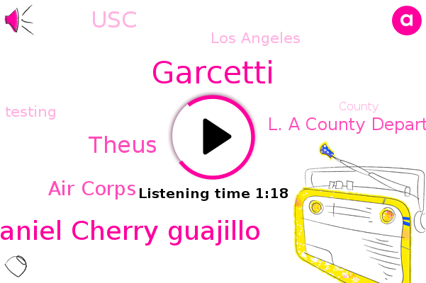 Garcetti,Daniel Cherry Guajillo,Air Corps,Theus,Los Angeles,L. A County Department Of Public Health,USC
