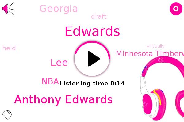 NBA,Minnesota Timberwolves,Anthony Edwards,Edwards,LEE,Georgia