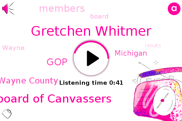 Listen: Michigan's largest county certifies election results after Republicans earlier blocked certification