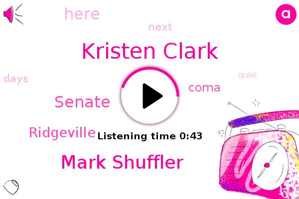 Kristen Clark,Mark Shuffler,Coma,Senate,Ridgeville