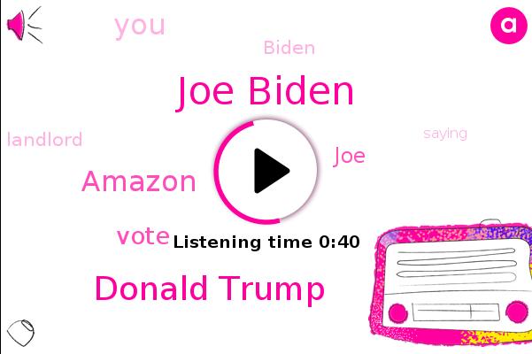 Joe Biden,Amazon,Donald Trump