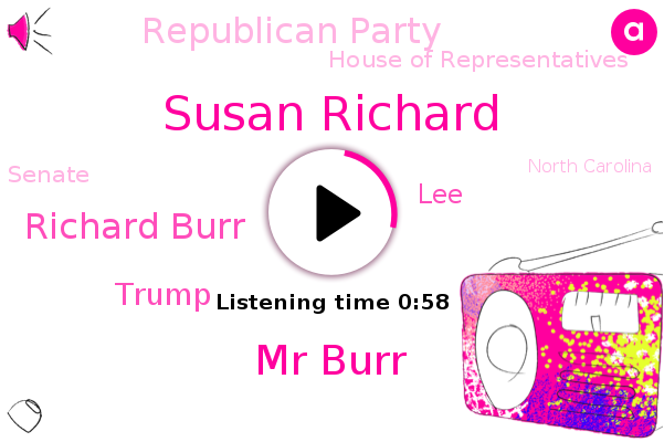 Listen: GOP Sen. Burr voted his conscience and paid the price