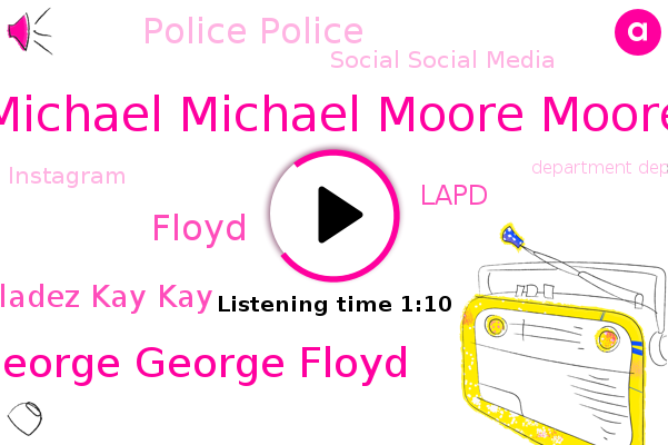 Listen: Los Angeles PD investigates after offensive photo of George Floyd circulated