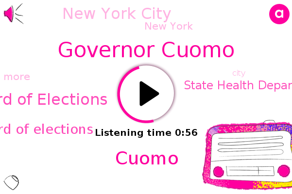 Governor Cuomo,Board Of Elections,New York City,New York,State Health Department,Cuomo