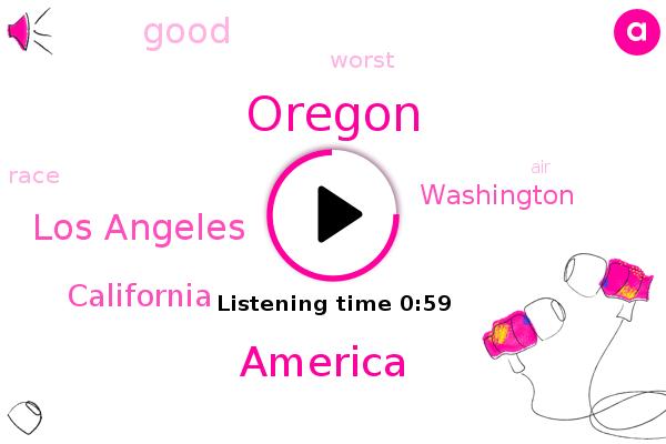 Oregon,America,Los Angeles,California,Washington