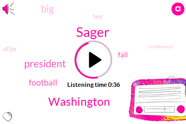 Football,Washington,President Trump,Sager
