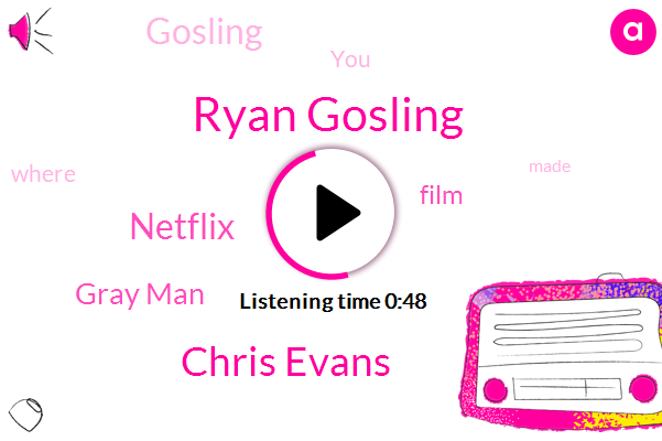 Ryan Gosling,Netflix,Gray Man,Chris Evans