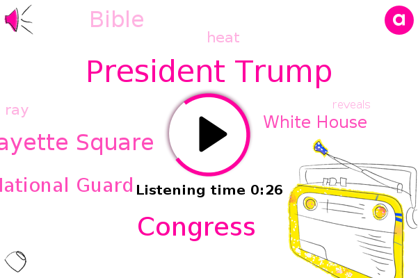 President Trump,Lafayette Square,National Guard,Congress,White House,Bible