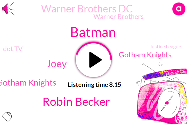Gotham,Batman,Robin Becker,Arkham,Warner Brothers Gotham Knights,DC,Gotham Knights,Joey,Warner Brothers Dc,Warner Brothers,Montreal,Dot Tv,Britain,United States,Justice League,Games,Partner