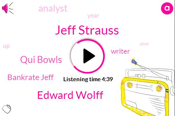Jeff Strauss,Edward Wolff,Bankrate Jeff,Motley,Qui Bowls,Writer,Analyst