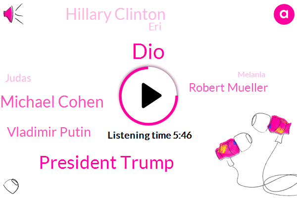 President Trump,Michael Cohen,Donald Trump,Vladimir Putin,Robert Mueller,Russia,Fraud,DIO,Hillary Clinton,Keystone Kop,ERI,Witness Tampering,United States,Judas,Melania,Vegas,Attorney