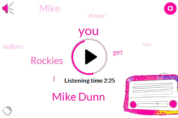 Mike Dunn,Rockies