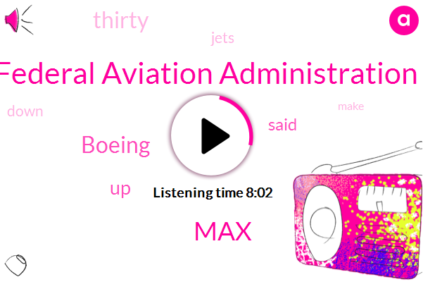 Federal Aviation Administration,Boeing,MAX