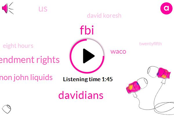 FBI,Davidians,Second Amendment Rights,Michael Shannon John Liquids,Waco,United States,David Koresh,Eight Hours,Twentyfifth