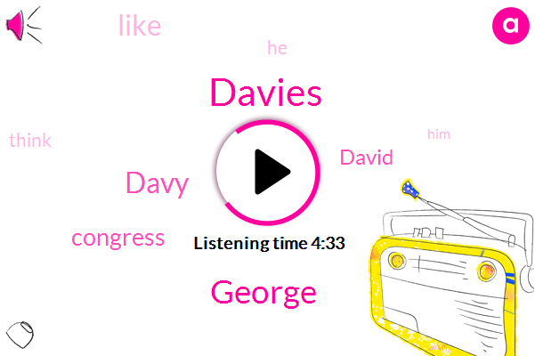Davies,George,Davy,Congress,David