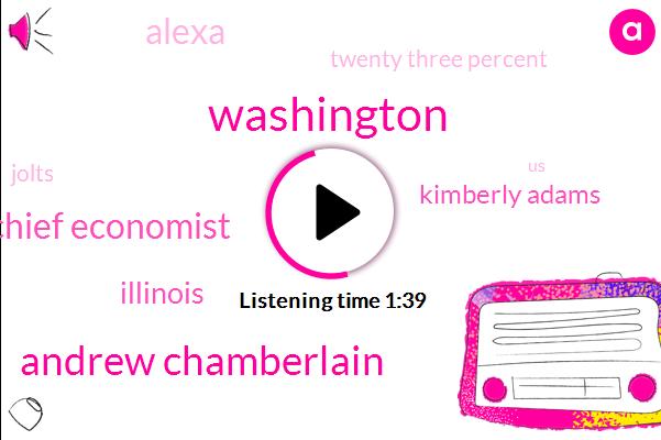 Washington,Andrew Chamberlain,Chief Economist,Illinois,Kimberly Adams,Alexa,Twenty Three Percent