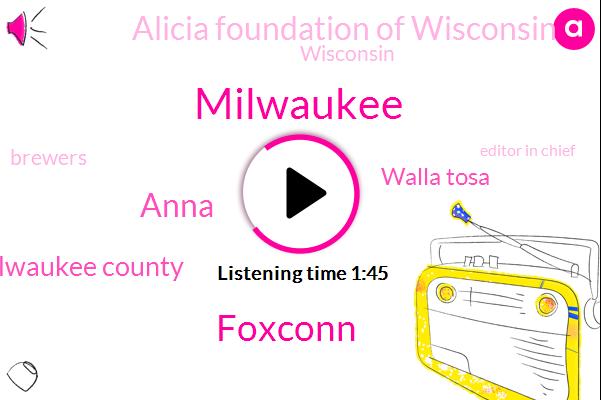 Milwaukee,Foxconn,Anna,Milwaukee County,Walla Tosa,Alicia Foundation Of Wisconsin,Wisconsin,Brewers,Editor In Chief,Johnson,Mark Cast