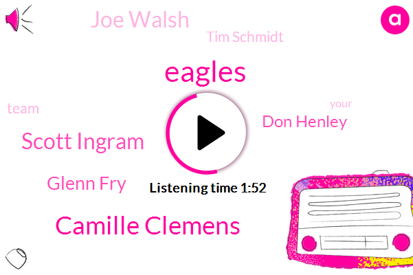 Eagles,Camille Clemens,Scott Ingram,Glenn Fry,Don Henley,Joe Walsh,Tim Schmidt