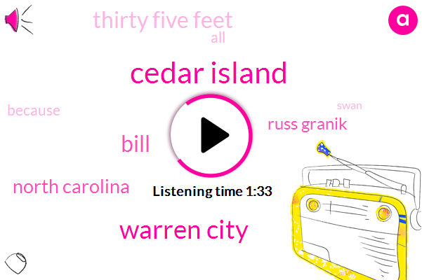 Cedar Island,Warren City,Bill,North Carolina,Russ Granik,Thirty Five Feet