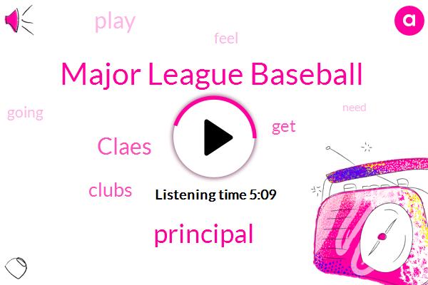 Major League Baseball,Principal,Claes