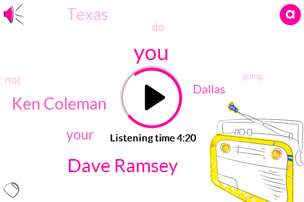 Dave Ramsey,Ken Coleman,Dallas,Texas