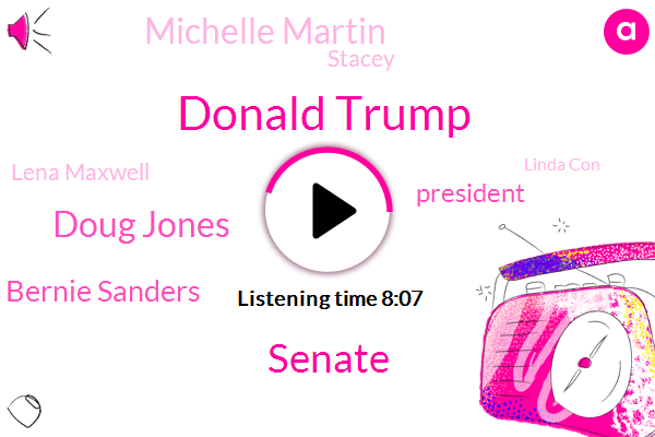 Donald Trump,Senate,Doug Jones,Bernie Sanders,President Trump,Michelle Martin,Stacey,Lena Maxwell,Linda Con,Hillary Clinton,Max Long,Christiane,Progressive Media,United States,Director,Barack Obama,Birmingham,Ovid,Moore