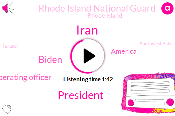 Iran,President Trump,Biden,Executive Vice President And Chief Operating Officer,America,Rhode Island National Guard,Rhode Island,Israel,Southwest Asia,T F Green Airport,ABC,Middle East,Katie Fitzgerald,United States,Donald Trump,Andy Field,Pentagon