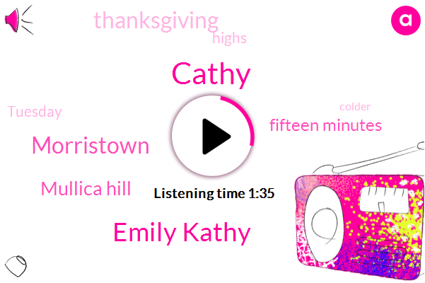 Cathy,Emily Kathy,Morristown,Mullica Hill,Fifteen Minutes