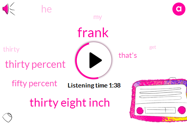Frank,Thirty Eight Inch,Thirty Percent,Fifty Percent