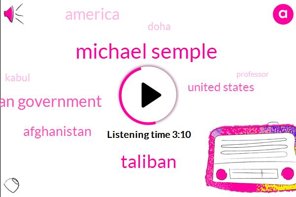 Listen: U.S.-Taliban Peace Deal Appears Within Reach