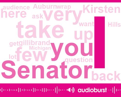Listen: Kristen Gillibrand talks sexual harassment