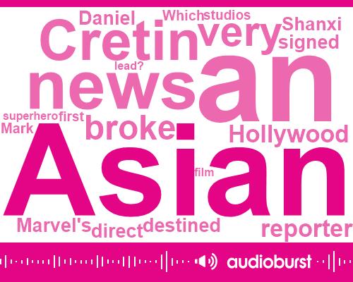 Marvel,Daniel Cretin,Director,Shanxi,Hollywood,Reporter,Holywood,Arson,Amy Rose,Justin Tipping,Alan Yang,Deborah Chow