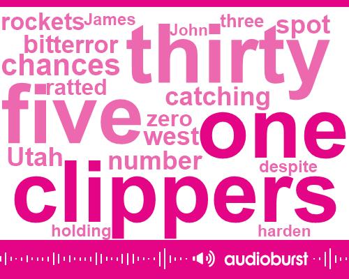 Clippers,Shakila Gonzales Zander,Utah,James Harden,Chris Paul,John Mir,Phoenix