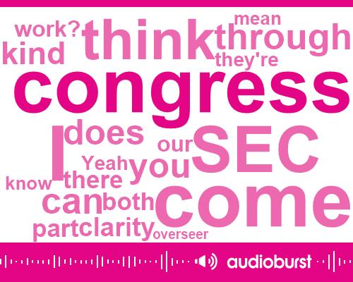 Congress,SEC