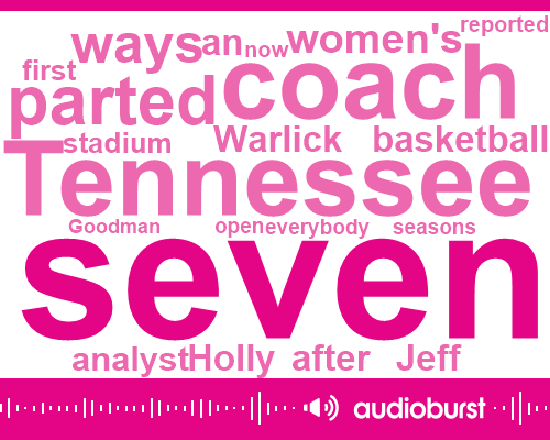 Holly Warlick,Tennessee,Jeff Goodman,Analyst,SEC,PAT
