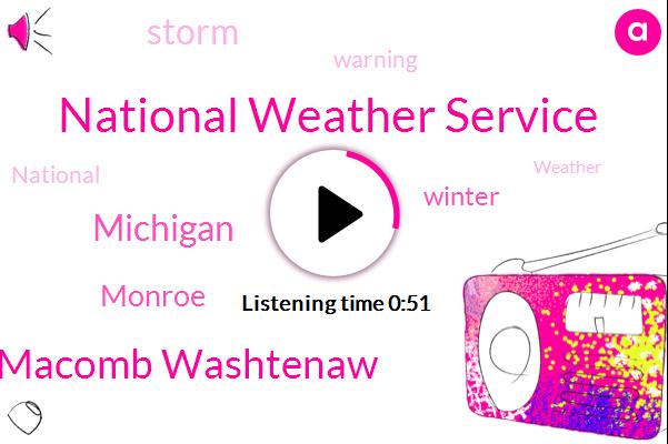 National Weather Service,Michigan,Wayne Oakland Macomb Washtenaw,Monroe