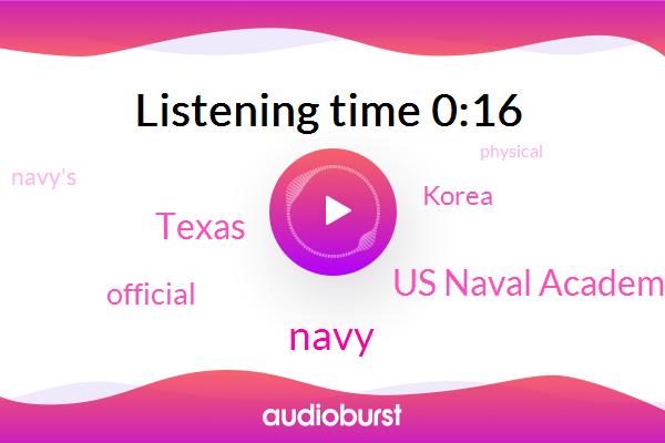 Navy,Us Naval Academy,Texas,Official,Korea