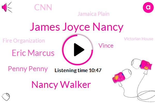 James Joyce Nancy,Canada,Nancy Walker,Gay Community News,New York,Eric Marcus,Boston,Massachusetts,Penny Penny,Toronto,United States,CNN,Jamaica Plain,Aids,Vince,Fire Organization,Victorian House,America