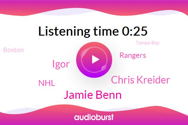 NHL,Tampa Bay,Boston,Jamie Benn,Chris Kreider,Igor,Rangers