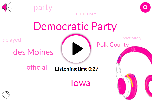Des Moines,Official,Polk County,Iowa,Democratic Party