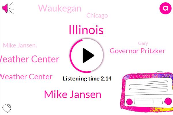 Illinois,Mike Jansen,Chicago Weather Center,Wdm Weather Center,Governor Pritzker,Waukegan,Chicago,Mike Jansen.,Gary