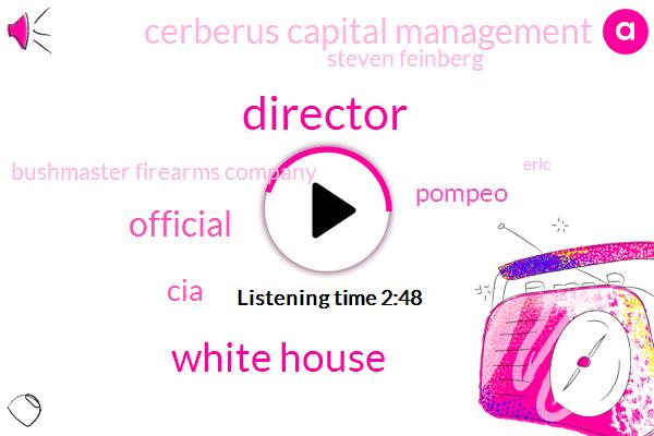 Director,White House,Official,CIA,Pompeo,Cerberus Capital Management,Steven Feinberg,Bushmaster Firearms Company,Eric,Nashville