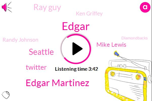 Edgar Martinez,Edgar,Seattle,Twitter,Mike Lewis,Ray Guy,Ken Griffey,Randy Johnson,Diamondbacks,Baseball,Associated Press,Andrew,Official,Football,Producer