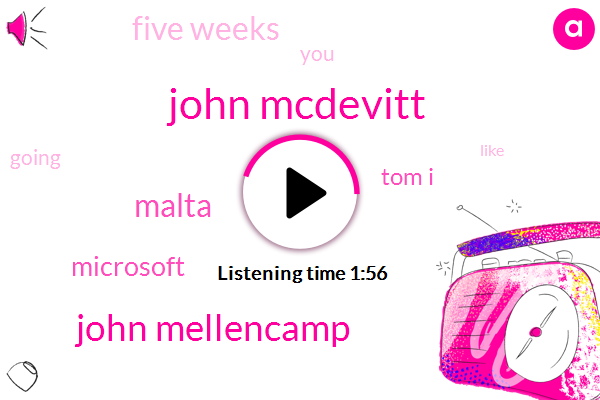 John Mcdevitt,John Mellencamp,Malta,Microsoft,Tom I,Five Weeks