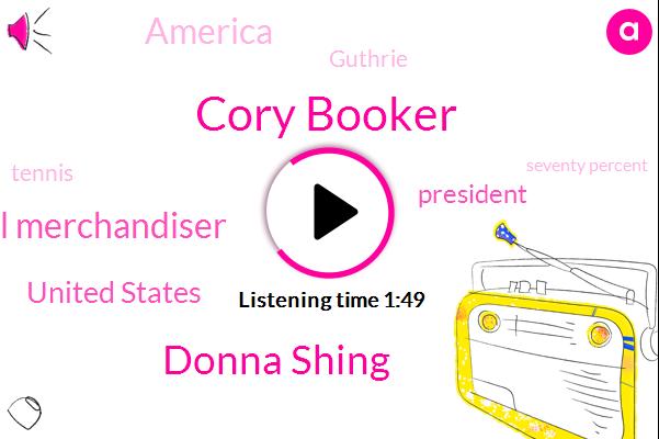 Cory Booker,Donna Shing,Visual Merchandiser,United States,President Trump,America,Guthrie,Tennis,Seventy Percent,Three Hours